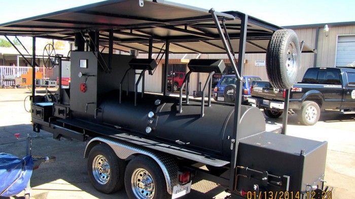 Tex Howard's Pit-Smoked Bar-B-Que Phase 2 Smoker Pit | #Prefundia