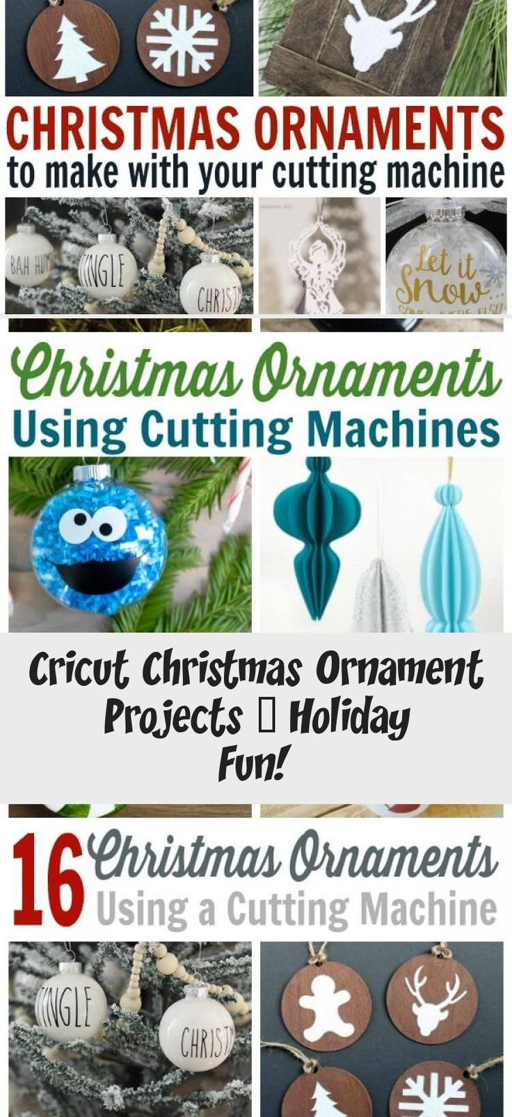 Cricut Christmas Ornament Project Ideas Use these SVG