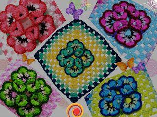 Tina's handicraft : crochet stitch No 24 - video tutorial & pattern