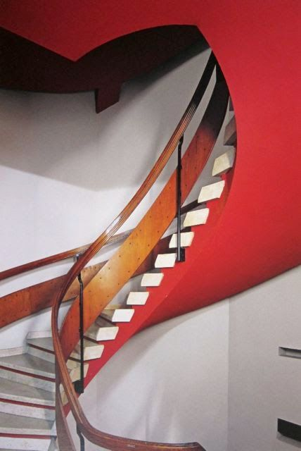 Franco Albini Staircase Parma n.d.