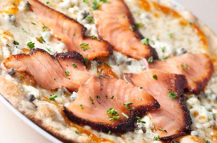 Smoked Salmon Thin Crust Pizza | Udi's® Gluten Free Bread