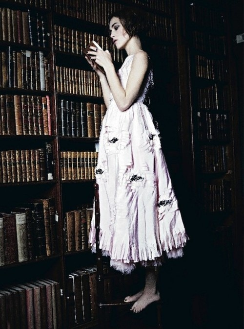 Knightly. Vogue Italia.