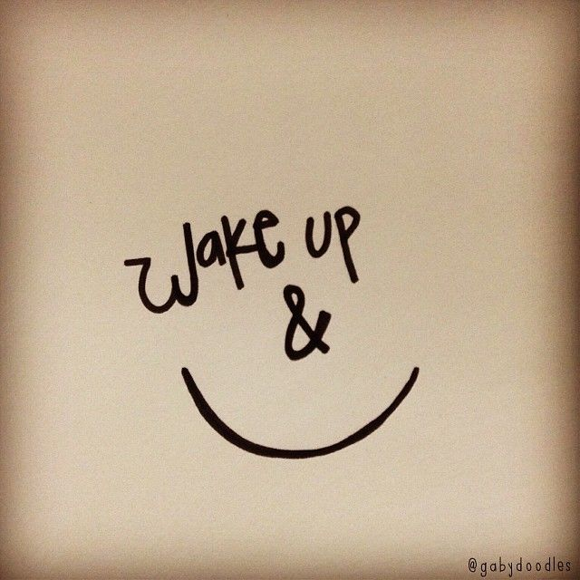 """Wake up and smile!  Inspired by Jamie Grace's song """"Beautiful Day""""."""