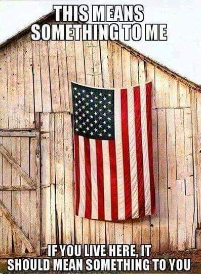 That's right! If it offends you, GET THE HELL OUT OF AMERICA! YOU DON'T BELONG HERE!!!