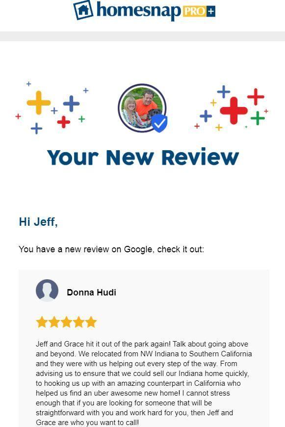 Google Review For Jeff Grace Safrin F C Tucker Realty Google