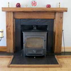 Rustic Oak Fire Surrounds