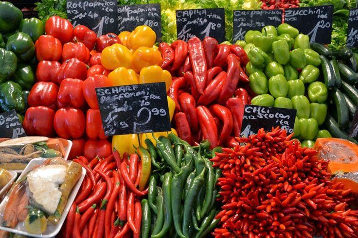 Colorful Naschmarkt