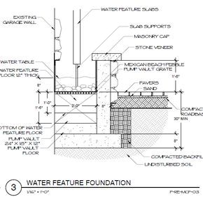 Image Result For Water Wall Feature Construction Landscape