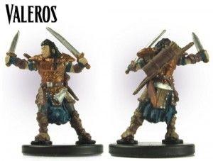 Pathfinder Heros: Valeros, Male Human Fighter