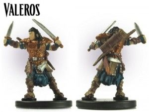 Valeros Pathfinder Miniature Pathfinder Hero...