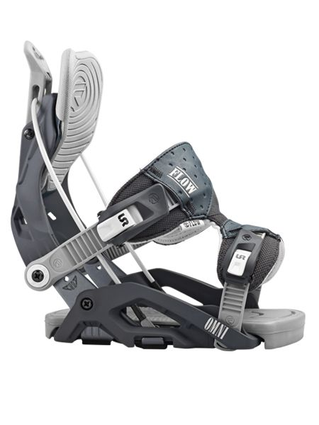 The Omni is forgiving yet responsive and the pinnacle of women's snowboarding bindings.
