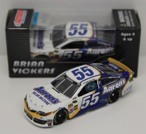 2014 #55 BRIAN VICKERS 1/64 Nascar Diecast Car Sprint Cup BRAND NEW! #Action