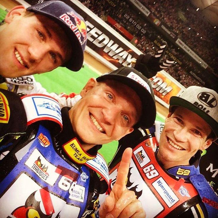 R2  WarsawSGP podium winner Fredrik Lindgren