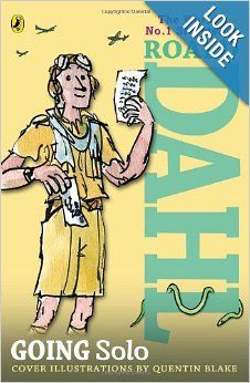 Going Solo: Roald Dahl, Quentin Blake: 9780142413838: Amazon.com: Books