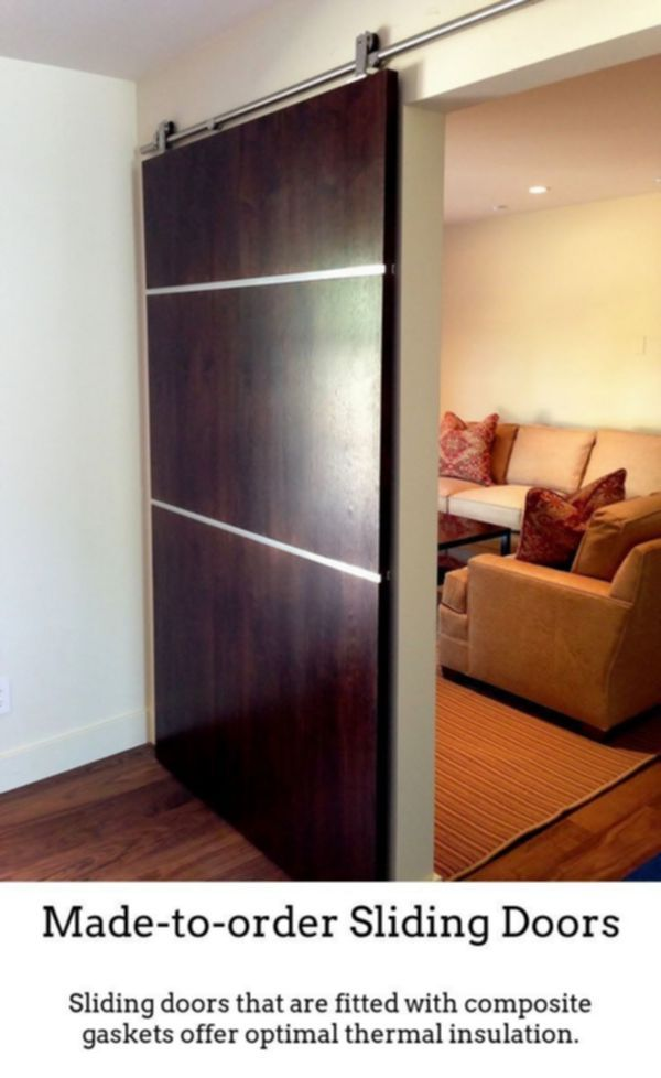 White Internal Doors Sliding Barn Doors For Inside House 4 Ft