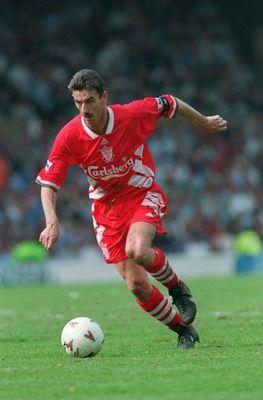 Ian Rush Liverpool. Maximo anotador de la historia del club, marco 346 goles en 660 partidos en todas las competencias.