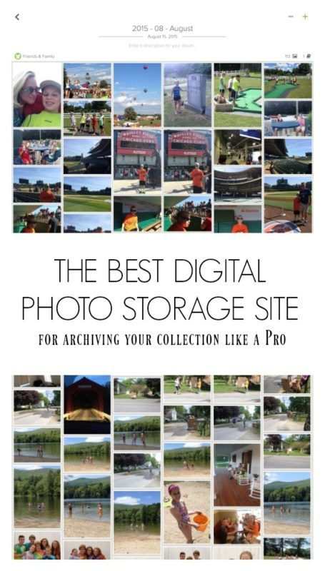Learn what photo storage site this certified photo organizer recommends for your digital photo collection