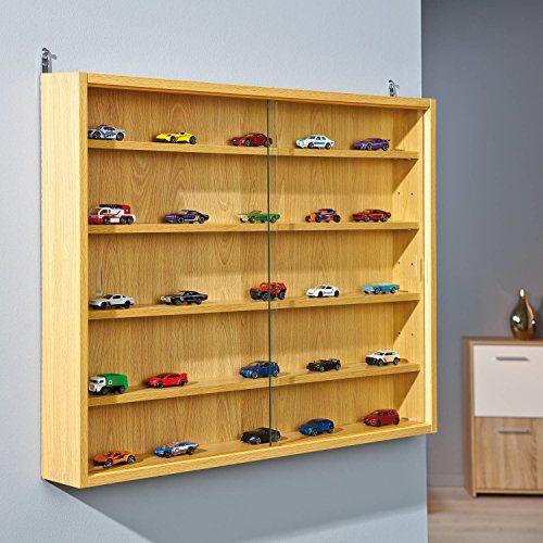 Links-Sammlervitrine-melaminharzbeschichtete-Flachpressplatte-verschiedene-Dekore-80-x-95-x-60-cm