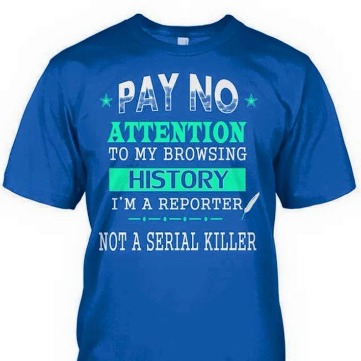 Pay no attention to my browsing history.  I'm a reporter, not a serial killer.