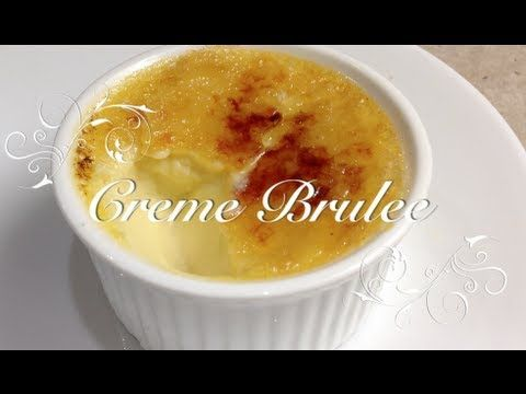 Thermochef creme brulee recipe