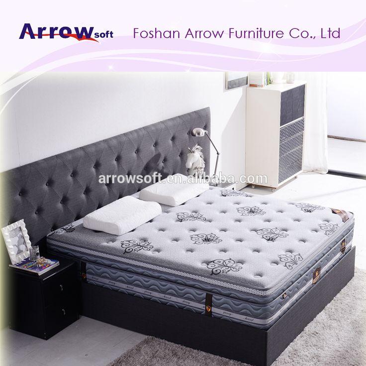 Us 30 300 Piece Euro Top King Size Gel Memory Foam Pocket Spring Bed