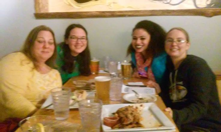Nerd Nite with some awesome women. Team name: Dutch Harbor 10s. Awesome events going on ALL around Anchorage.   We did not win but that is okay. We had fun. Tried caribou chili and some wonderful local beers. No shortage of good food or drink in Anchorage.
