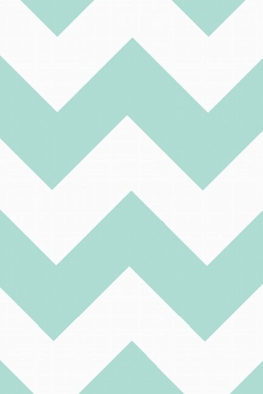 mint green chevron iphone wallpaper pinterest green