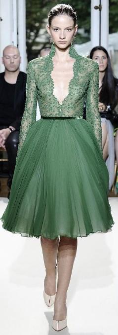 emerald lace...
