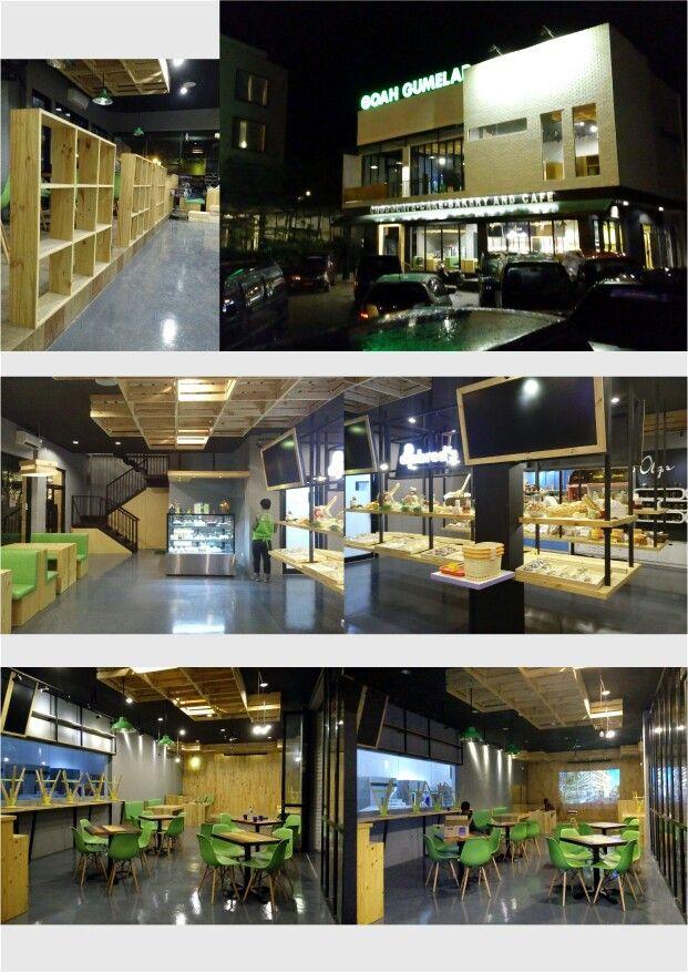 Goah Gumelar, Cafe's Interior Design - Partner with Improof Design Factory
