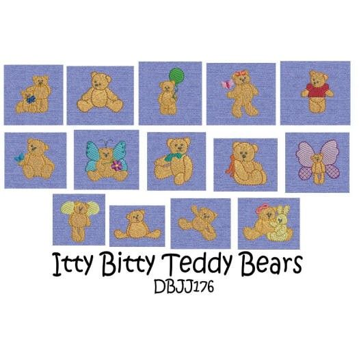 Teddy Bears Quilt Machine Embroidery Designs