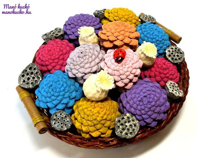 Egy szép, színes tálka virágokkal megtöltve igazán mutatós dekorációja lehet otthonunknak. Nyáron nagyon sok, gyönyörű virág közül választhatunk. De egy ilyen helyes kis díszt nemcsak vágott virágokból készíthetünk, hanem fenyőtobozokból is. Bár egy kisebb tálka vagy kosárka bedíszítéséhez elegendő pár darab, viszont a látvány biztosan felül fogja múlni várakozásainkat. Az alábbi hozzávalókra lesz szükségünk: – …