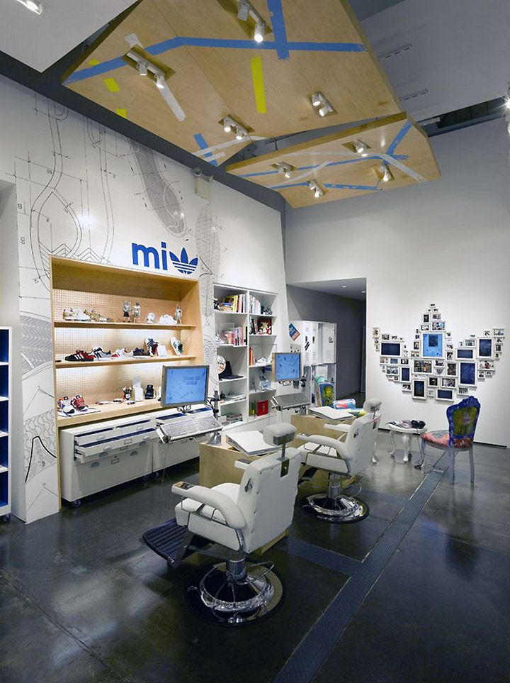 Adidas Originals NY By Sid Lee Store Interior DesignStore