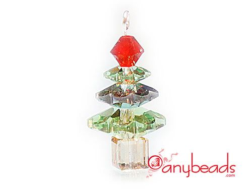 Sparkling Christmas Tree made with Swarovski Crystal