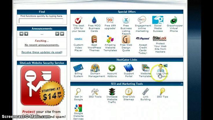 Best Web Hosting Tutorials Images On Pinterest Wordpress - Hostgator website templates