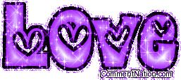 """Purple Glitter Graphics 