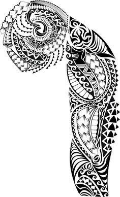 Half Sleeve Tribal Tattoo Design | Tribal Half Sleeve Tattoos for Women | Half…