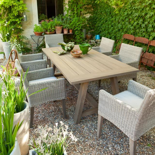 Meuble Jardin Castorama. Top Affordable Fabulous Table Jardin ...