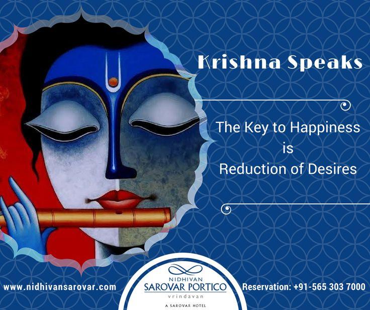 Receiving #Krishna consciousness in your life is receiving enlightenment. Let's begin the week with His blissful Light. Hare Krishna!   For Reservation: +91 565 303 7000 Or, Visit Us: www.nidhivansarovar.com #KrishnaSpeaks #krishnaQuotes #Quotes #Vrindavan #NidhivanSarovarPortico #BestHotelinVrindavan
