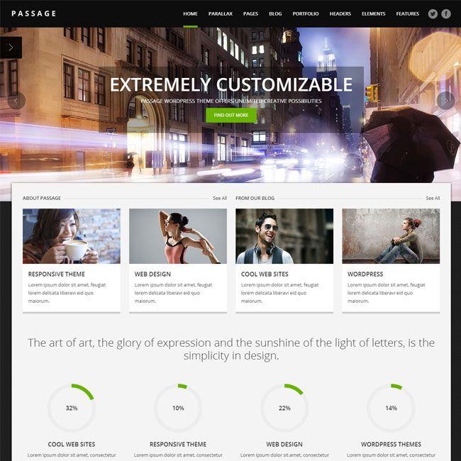 Passage Responsive MultPurpose WordPress Theme   WordPress Theme Download