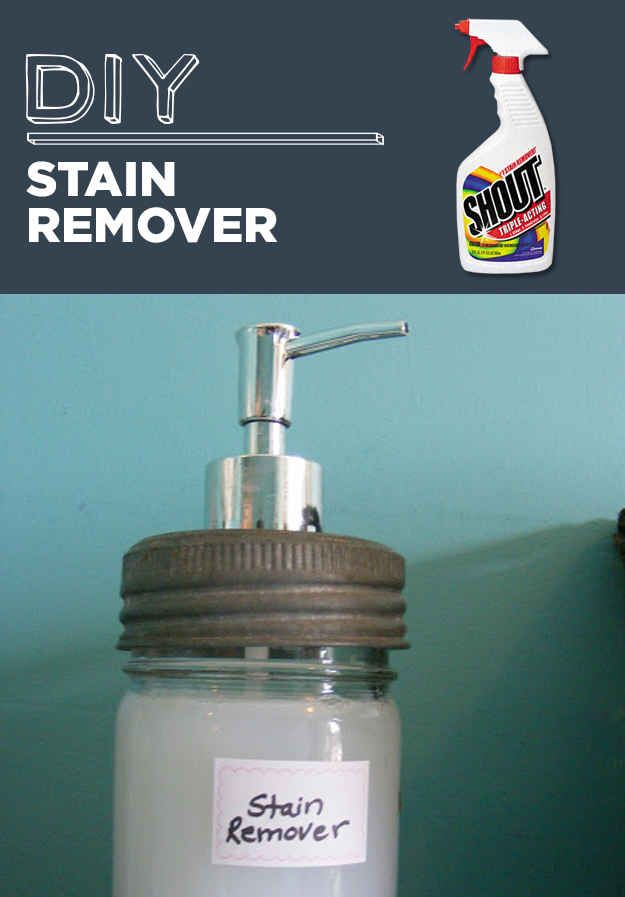 DIY Stain Remover | 31 Household Products You'll Never Have To Buy Again
