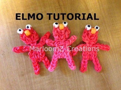 Rainbow Loom Elmo doll or Charm - http://rainbowloomsale.com/rainbow-loom-elmo-doll-or-charm/