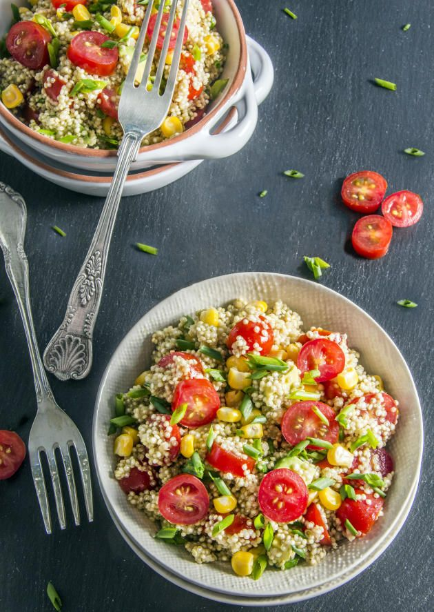 Quinoa Avocado Salad | Recipe | Sweet corn, Summer and Barbecue