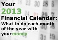 What do do every month of the year for your finances!