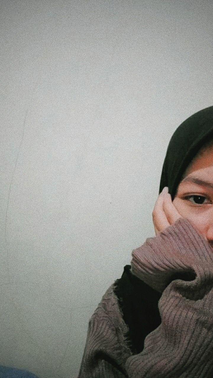 Loockscreen Cewe Hijab Aesthetic Remaja Cewe Hijab Blur Gambar Gadis Cantik Gambar Orang Blur