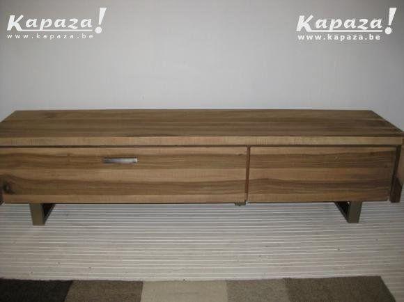 Tv dressoir naturelkleur seesham hout (nieuw,, TV meubels, Houthalen | Kapaza.be
