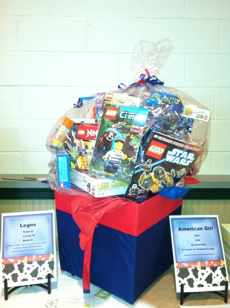 7 best auction baskets images on pinterest auction baskets legos second grade boys basket items donated by second grade families this one negle Choice Image