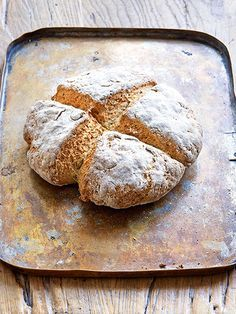 SODA BREAD - Paul Hollywood  Ireland's most famous bread is made with two of the oldest foods, wheat and buttermilk.