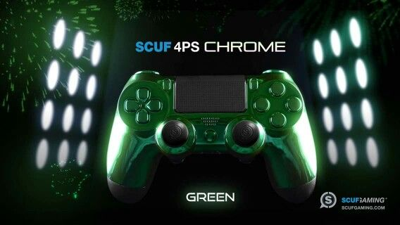 PS4 Chrome Green | Games, Chrome, Ps4