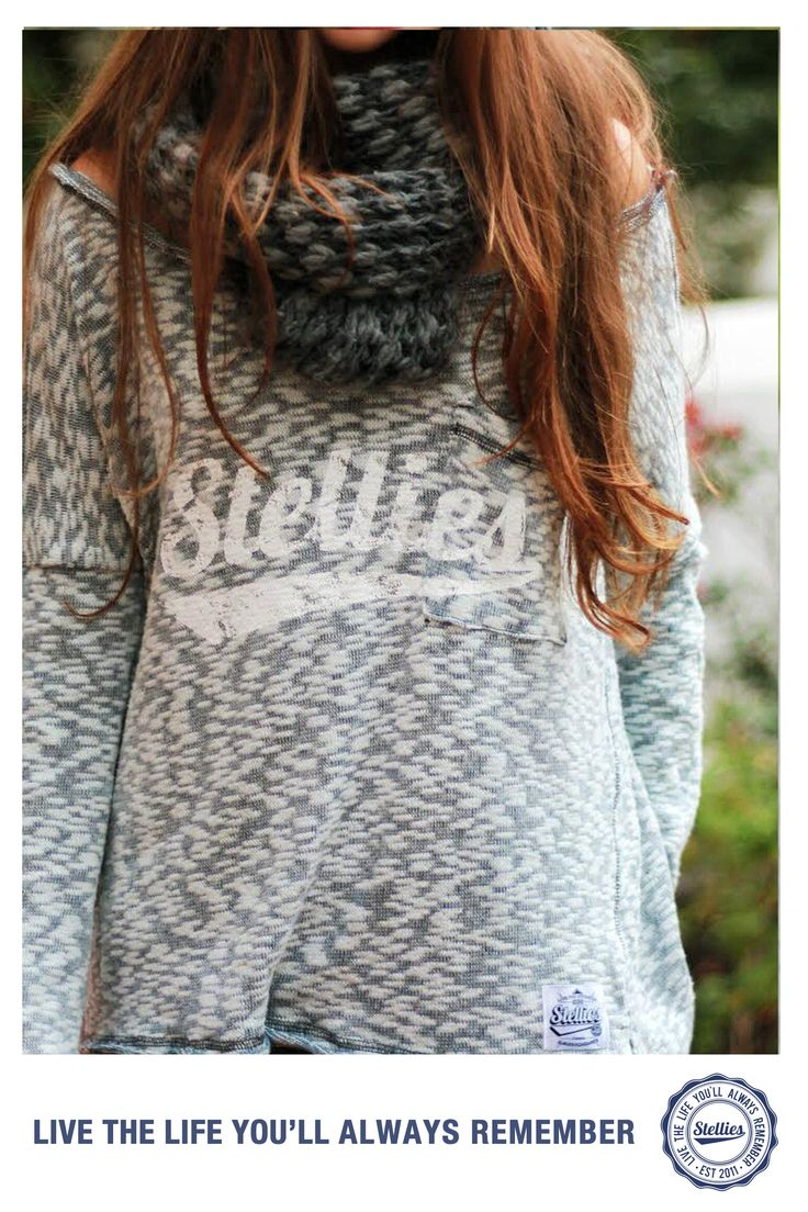 Slouchy Jersey by Stellies™  Check us out at www.stelliesTM.com © Stellies 2013