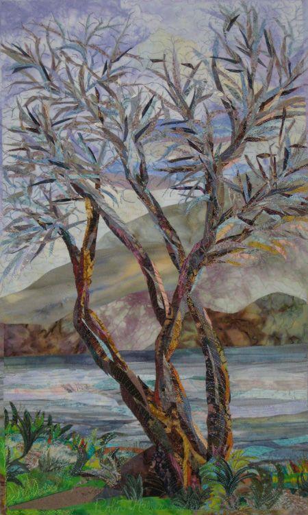 The Leprechaun's Tree by Robin M. Haller.  Beautiful quilt, Robin!
